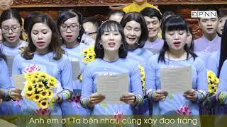 Ca khúc: Ơn Thầy cứu độ và Thầy về đây do Ban Đạo Ca chùa Giác Ngộ hợp ca 21-11-2019