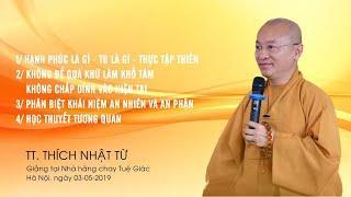 Vấn đáp Phật pháp ngày 03-05-2019 (HD) | Thích Nhật Từ