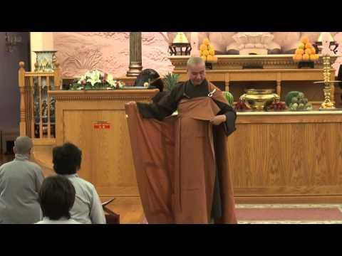 Nghi Thức Đấp Y và Nhận Bát - Hướng dẫn cho Khóa Tu Xuất Gia Gieo Duyên