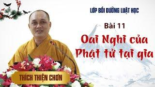 Bài 11. Oai nghi của Phật tử tại gia