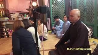 """ĐĐ. Thích Thiện Xuân giảng """"Tâm Sự 1"""" tại Hàn Quốc"""