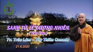 Sanh Tử Lẽ Đương Nhiên - Thầy Thích Pháp Hòa (Tv.Trúc Lâm.Ngày 21.6.2020)