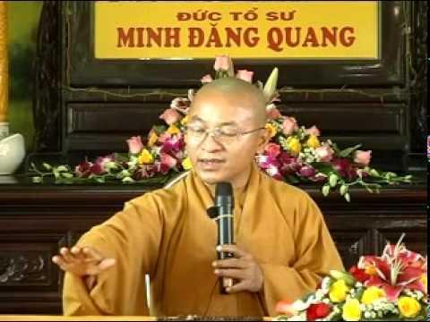 Hộ niệm, tống táng và siêu thoát (16/04/2011) video do Thích Nhật Từ giảng