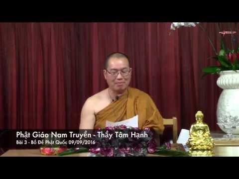 Phật Giáo Nam Truyền - Bài 3