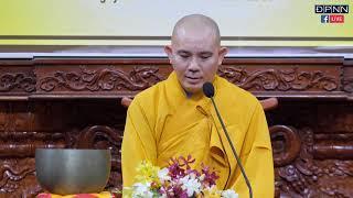 TT. Thích Đồng Thành  giảng khóa tu xuất gia gieo duyên chùa Giác Ngộ
