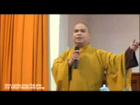 Định Nghiệp Trong Phật Giáo  - ĐĐ. Thích Trung Bửu