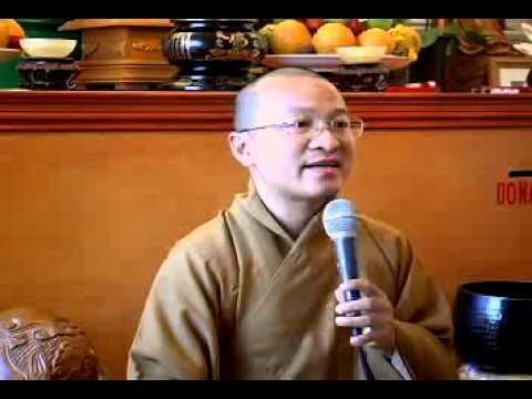 Không Nói Một Lời Nào (04/08/2008) video do Thích Nhật Từ giảng