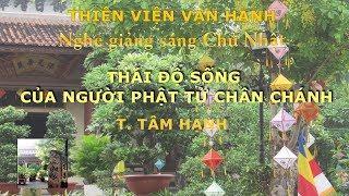Thái Độ sống của người Phật tử chân chánh-P2