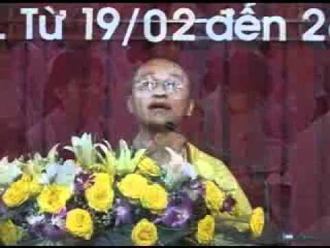 Đối Diện Với Bệnh (26/02/2006) video do Thích Nhật Từ giảng
