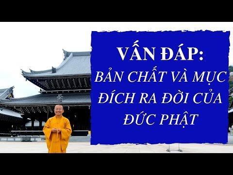 Vấn đáp: Bản chất và mục đích ra đời của Đức Phật