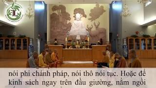 Tụng Kinh Thủy sám (có chữ) - Thầy Thích Pháp Hòa (02.06.2020 - Trúc Lâm)