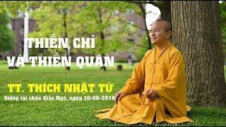Thiền chỉ và thiền quán
