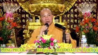 Mười Đạo Lý Ở Đời Và Trong Kinh Phật