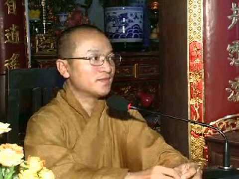 Mười bốn điều Phật dạy 1 (điều 1-4: Tự ngã, dối trá, tự đại và ganh tỵ) (29/06/2008) Thích Nhật Từ g