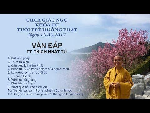 Vấn đáp khóa tu Tuổi Trẻ Hướng Phật - TT.