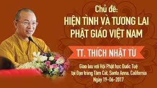Hiện tình và tương lai Phật giáo Việt Nam