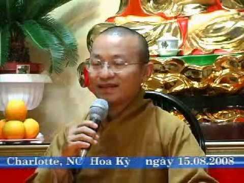 Phước Sinh Tịnh Độ (15/08/2008) video do Thích Nhật Từ giảng