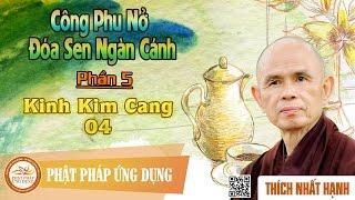 Công Phu Nở Đóa Sen Ngàn Cánh 05: Kinh Kim Cang 04 - Thầy Thích Nhất Hạnh