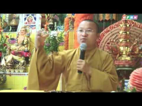 Nuôi dưỡng tâm bồ-đề 1: Yêu cần nhận thức và tâm lý (25/06/2011) video do Thích Nhật Từ giảng