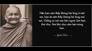 Thiền Sư Ajahn Chah  - Nhận Chân Khổ Đế