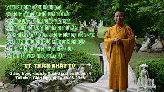 Vấn đáp Phật pháp ngày 16-08-2018 (HD) (Phần 1) | Thích Nhật Từ