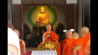 Chói sáng khu rừng Gosinga -  HT. Viên Minh thuyết giảng tại chùa Huyền Không, Huế (31/7/2019)
