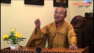Phật Pháp Cho Người Tại Gia (18/11/2012) video do Thích Nhật Từ giảng