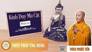 """Kinh Duy Ma Cật (phần 15), phẩm """"Phật Hương Tích"""" - Thầy Thích Phước Tiến giảng"""