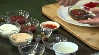 Món 126 - Tàu hũ ky khô sauce chua ngọt
