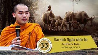 KINH TRUNG BỘ 33: ĐẠI KINH NGƯỜI CHĂN BÒ