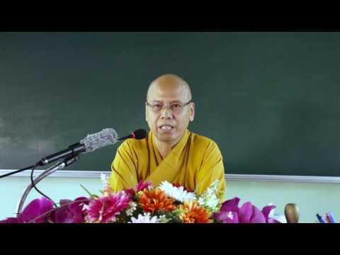 Tọa Thiền Chỉ Quán Phần 10 - Chánh Tu. Tg: TT: Thích Minh Đạo.