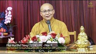Phật Học Phổ Thông | Tứ Diệu Đế - Phần 11