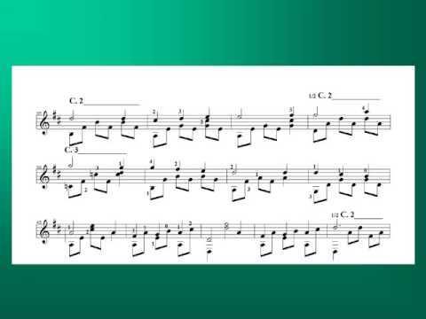 LỜI MẸ RU - nhạc Trịnh Công Sơn - Võ Tá Hân chuyển soạn cho Guitar