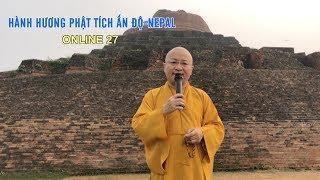 Tháp Kesariya- Nơi đức Phật tặng chiếc bát của ngài nhằm khuyên các đệ tử tại gia quay trở về