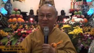 Bước Đầu Học Phật (26/01/2013) video do Thích Nhật Từ giảng