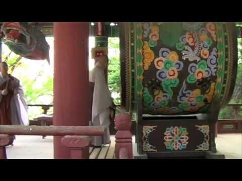 Buddhist drum ritual in Korea