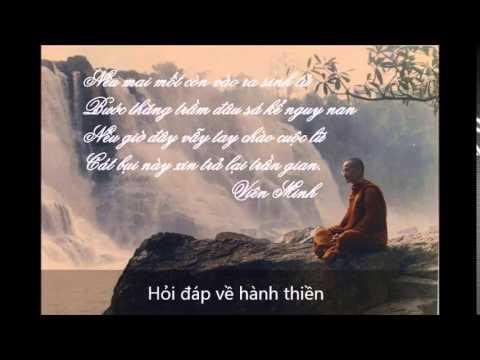 Hỏi đáp về hành Thiền