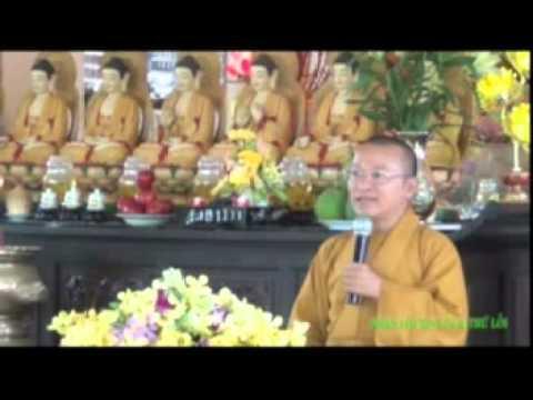 Nhận lỗi, xin lỗi và thứ lỗi (15/05/2012) video do Thích Nhật Từ giảng