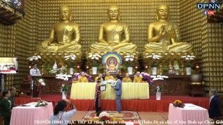 Lễ Hằng Thuận của cô dâu Thiên Di và chú rể Văn Bình tại Chùa Giác Ngộ
