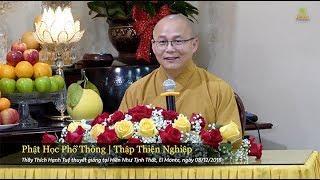 Phật Học Phổ Thông - Thập Thiện Nghiệp