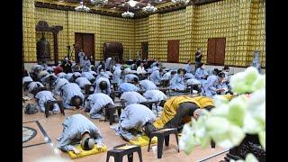 Thời lạy Phật 108 lạy - tại chùa Giác Ngộ ngày 21/03/2021.