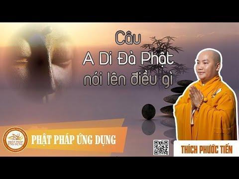Câu A Di Đà Phật Nói Lên Điều Gì