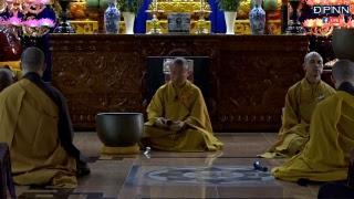 TT. Thích Nhật Từ hướng dẫn thiền Vipassana buổi sáng ngày 17-5-2018