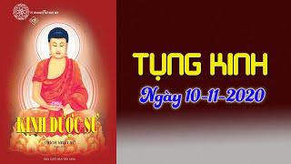TỤNG KINH DƯỢC SƯ tại chùa Giác Ngộ ngày 11-10-2020.