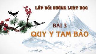 Bài 3: Quy Y Tam Bảo (phần 1)