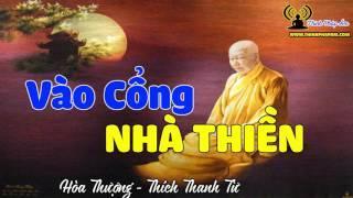 Vào cổng nhà Thiền