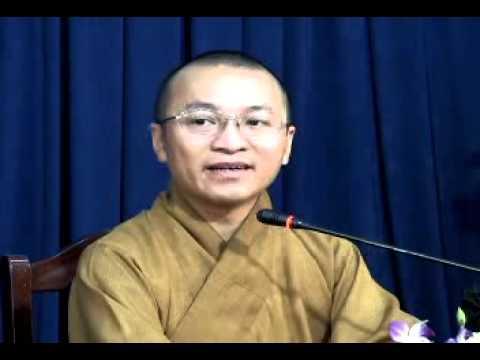 Chuyển hóa trong niệm Phật (03/05/2008) video do Thích Nhật Từ giảng