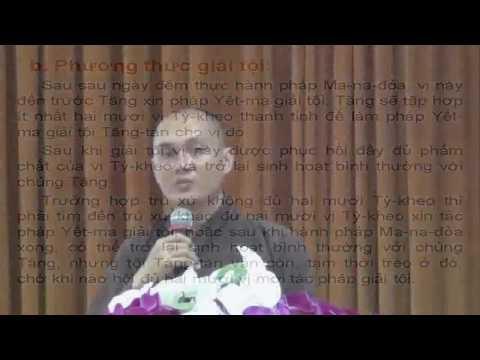 Giới Tỳ Kheo: Phương Thức Sám Hối Tội Tăng Tàn (phần 2)