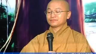 Kinh Trung Bộ 108: Người Đáng Nương Tựa (14/09/2008) video do Thích Nhật Từ giảng