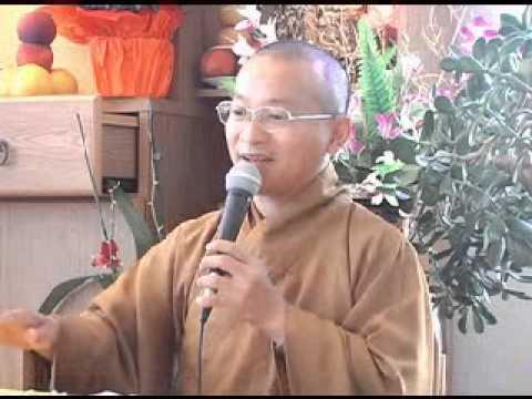 Mười điều tâm niệm - điều 4: xây dựng đạo hạnh (23/08/2008) video do Thích Nhật Từ giảng